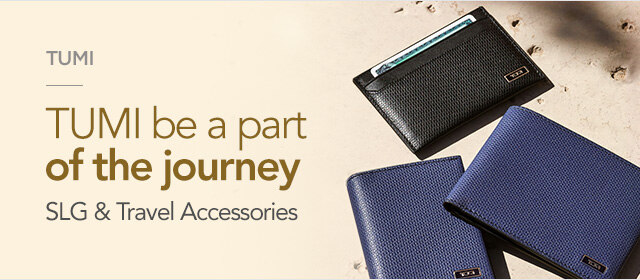 [TUMI]Be a part of the journey