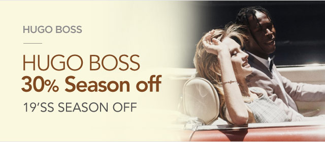HUGO BOSS 19'SS SEASON OFF